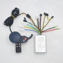 Controlador eléctrico de bicicleta/scooter de 36V 48V 250W 350W con acelerador LCD velocidad de visualización para patinete xiaomi/e bicicleta