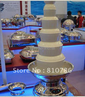 100CM High 6 Layer Stainless Steel Chocolate Fondue Cooker 498W Wroking Time More Than 12 Hours