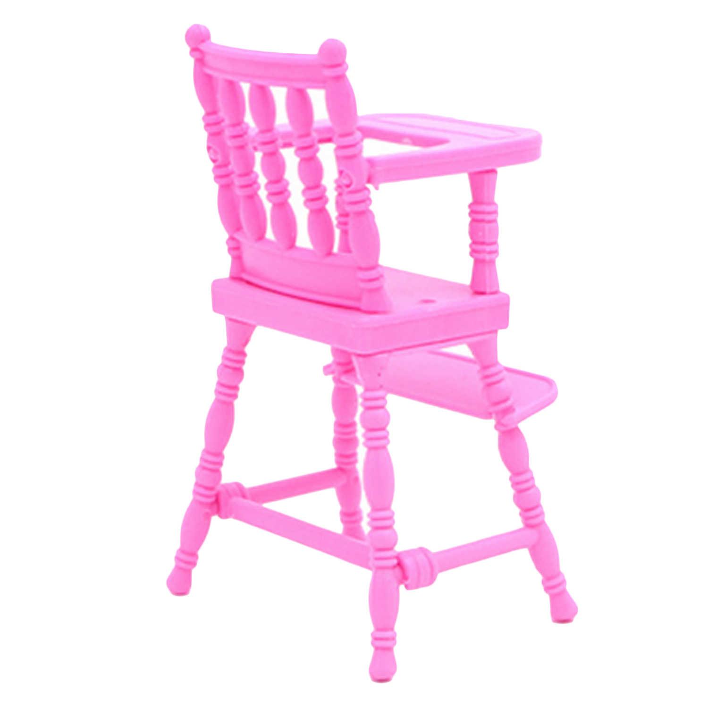 1 шт. мини кукла высокий стул с 1 шт. детская коляска кукла дом мебель аксессуары для Барби кукольный домик