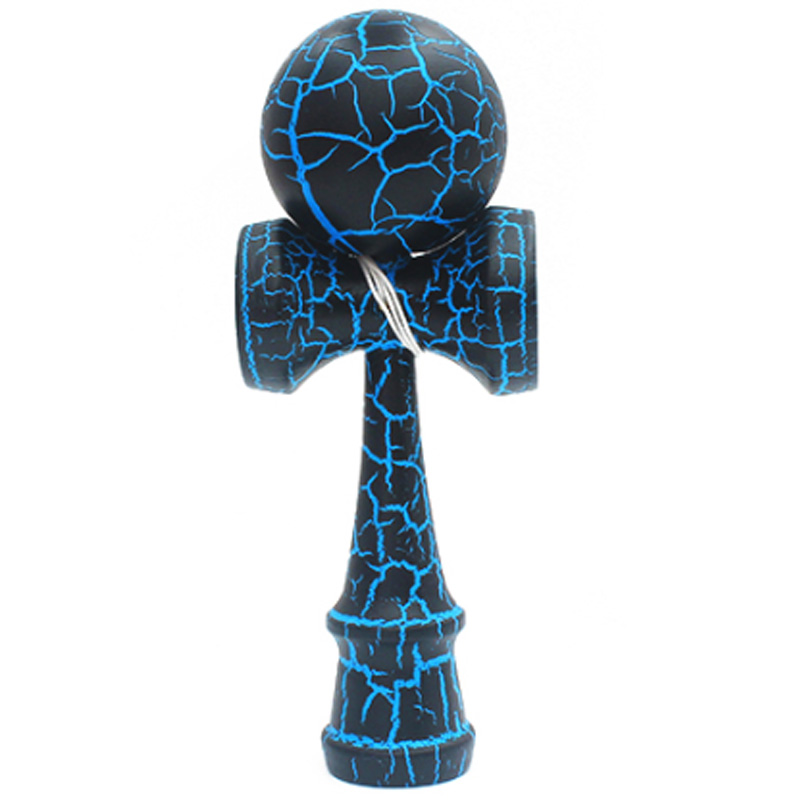 Brinquedo de madeira esportes ao ar livre kendama brinquedo bola crianças e adultos ao ar livre esportes bola crack faia madeira design colorido