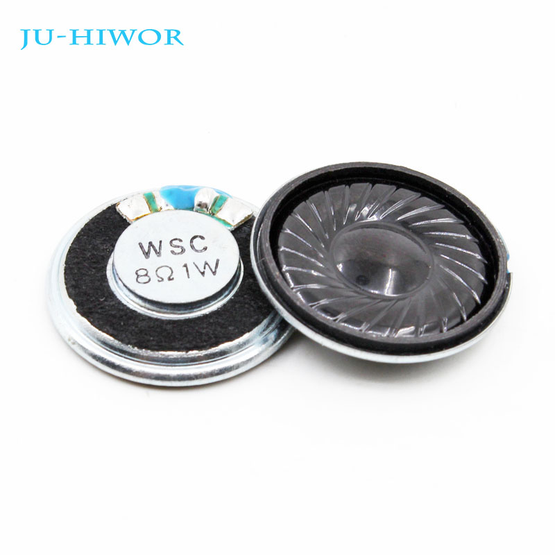 20pcs 2w 8r Loudspeaker Diameter 23mm Mini Round 2w 8r 8ohm Speakers Thickness 6mm Small Horn Electronic Components & Supplies Passive Components