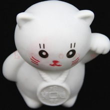 Christmas Colors Changing LED Lamp Decoration Romantic Lucky Cat Night Light Nice Gifts