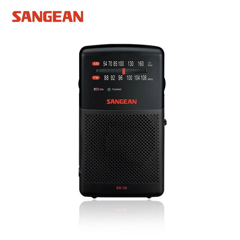 SR-35 sangéenne AM/FM radio de poche Portable récepteur radio récepteur radio de poche récepteur fm de haute qualité