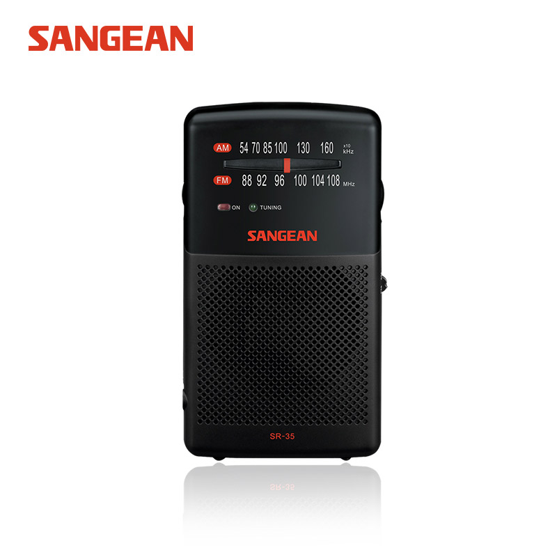 Sangean SR-35 AM/FM Portable fm am mini radio receiver free shipping radio high quality Sangean radio конструктор kribly boo 58359