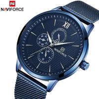 NAVIFORCE 2018 New Fashion Men Watches Men's Casual Sports Quartz Wrist Watches Military Waterproof Analog Clock