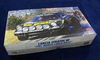 Assembly 1/24 Lancia HA20261 STRATOS Rally Car Building Blocks Kits