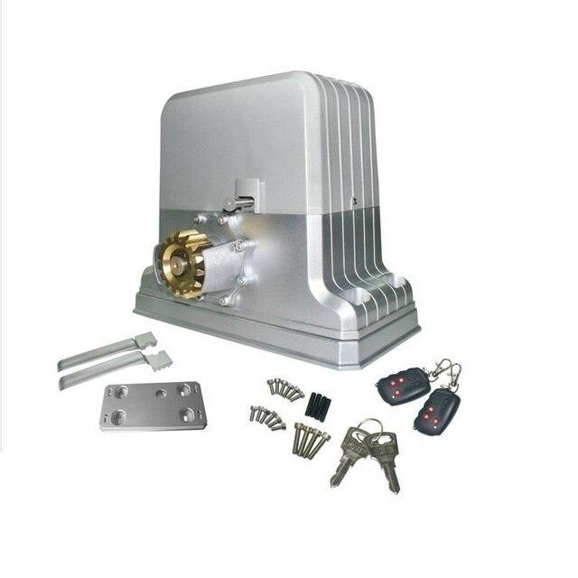 1800kgs (3600LBS) электрический двигатели откатных ворот/автоматические ворота открывалка для контроля доступа с 5 пара/10 части дистанционного управления
