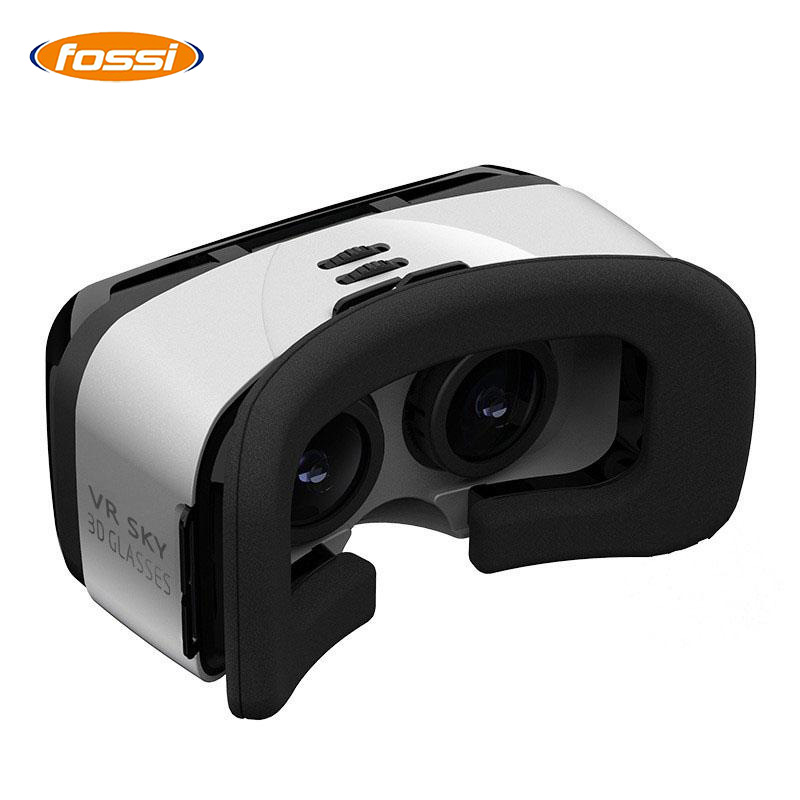 2017 VR BOX VR Virtual Reality 3D Glasses Helmet Google Cardboard Headset Version for 4.7- 6.1 inch Smart Phone iPhone Android
