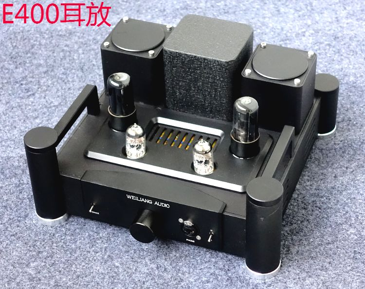 2017 New WEILIANG AUDIO E400 with output transformer and electronic tube amplifier for HD800 tube amp T1