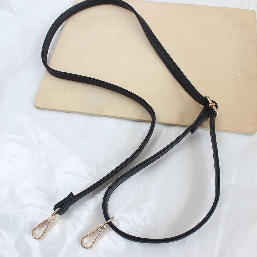 120 cm bolso de cuero de PU ajustable Correa bolso de mano DIY Obag asas Correa cinturón con hebilla de langosta dorada bolso de hombro Accesorios