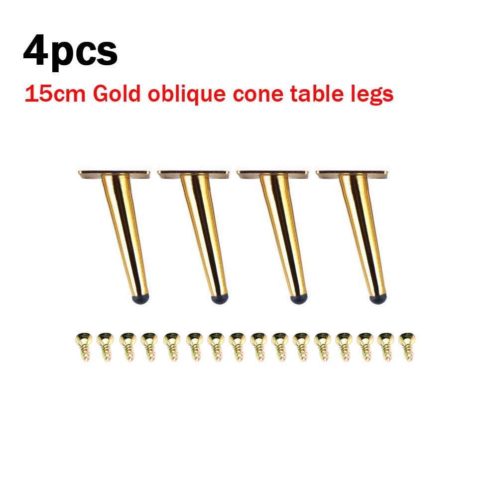 4pcs Gold Furniture Legs Replacement 15cm Stainless Steel Sofa Couch Feet4pcs Gold Furniture Legs Replacement 15cm Stainless Steel Sofa Couch Feet