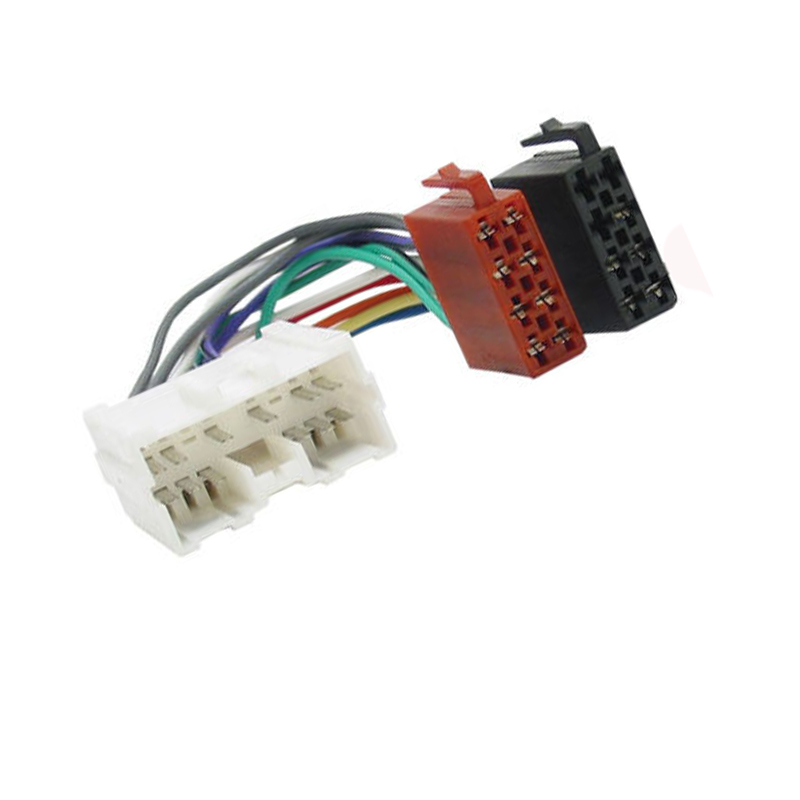 New Car Radio Iso Wiring Harness Adaptor Cable For