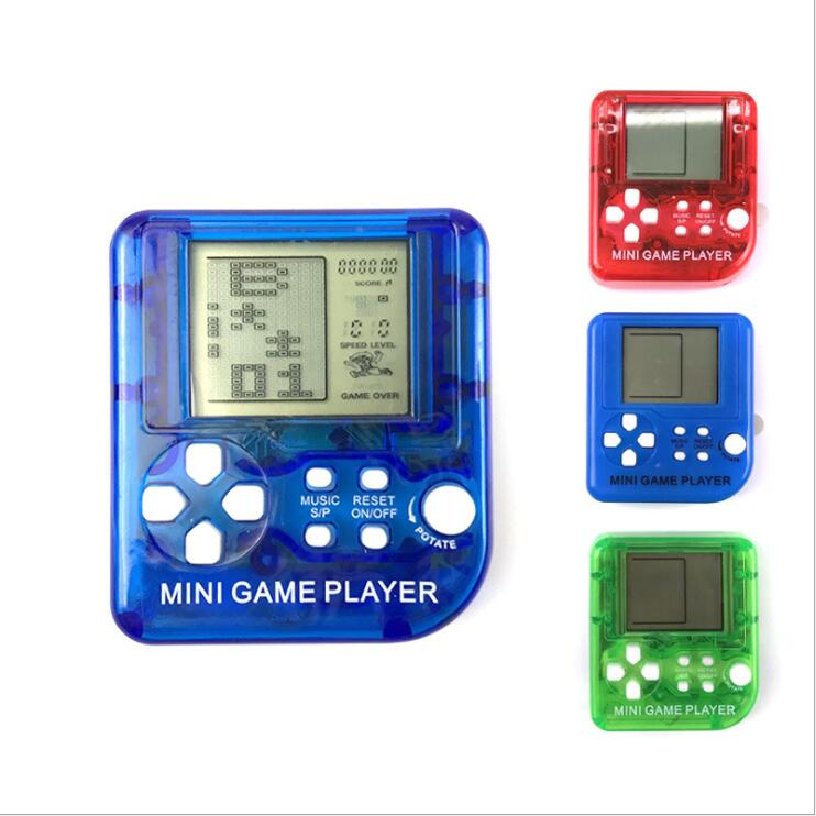 mini toys tetris handheld RAC whack-a-mole game player ( include 26 game) D052 ...