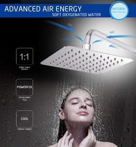 Image 4 - 卸売と小売40センチメートル * 40センチメートル降雨シャワーヘッド16インチ天井レインシャワーレインシャワーヘッド16インチ