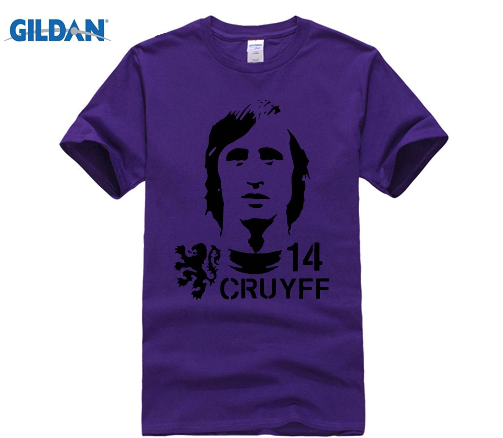funny men t shirt Hendrik Johannes Cruyff Holland Nederland Ajax  The Godfather 100% cotton t shirt 4