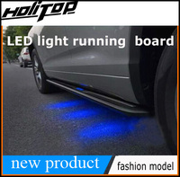 new arrival for NX NX300h newest side step side bar NX200T running board, with LED light, fashion model, free shipping to Asia