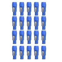 20 قطع 250 فولت Powercon 3 دبوس رئيس الهيكل محول PowerCon موصل NAC3FCA 20A AC كابل الكلام على موصل powercon الذكور التوصيل