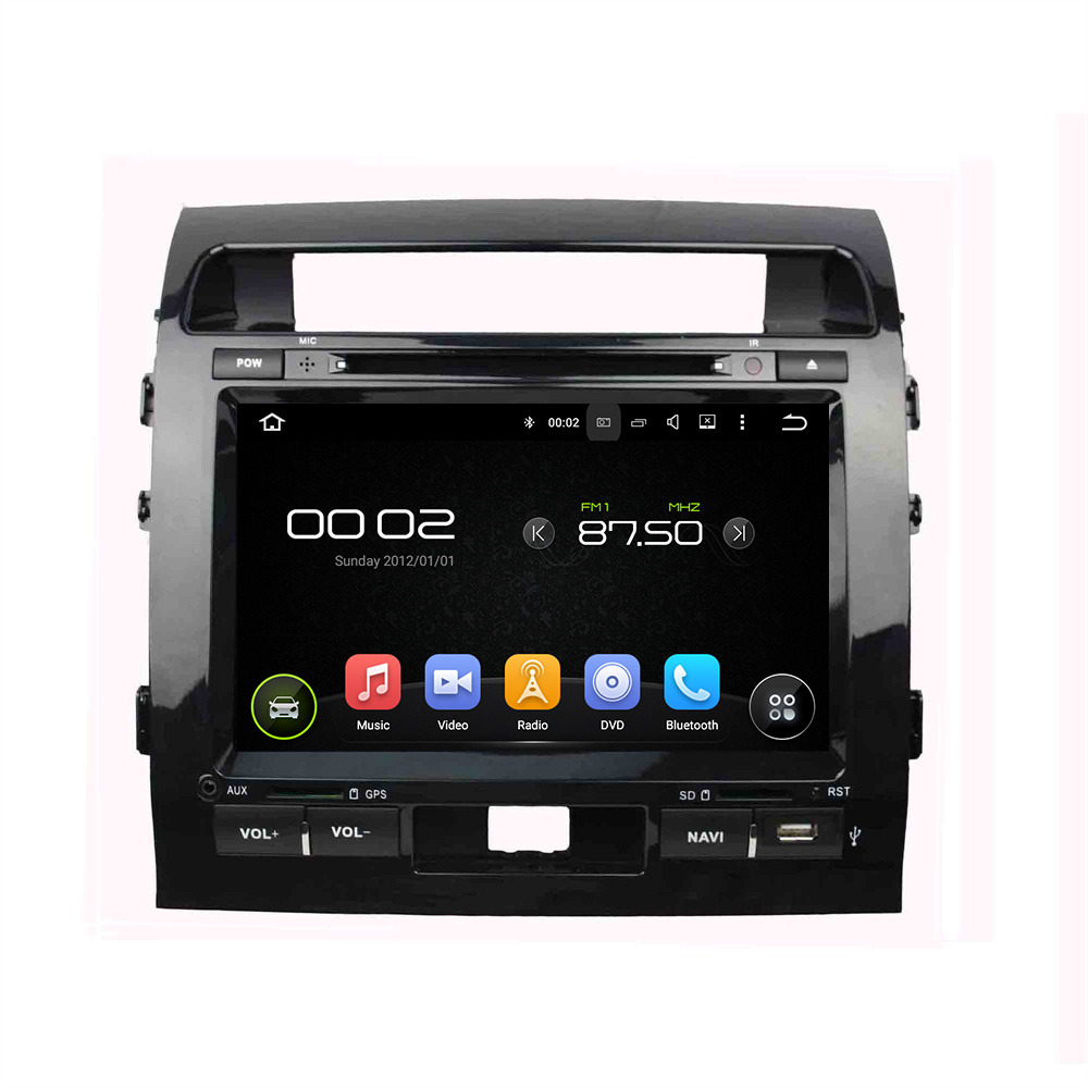 Android 5.1.1 4 Core Car GPS Navigation DVD Player Car Radio Audio Video Multimedia For  ...