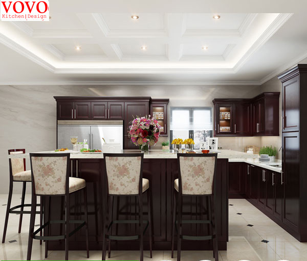 walnut kitchen cabinets small sets solid wood in from home improvement on aliexpress com alibaba group