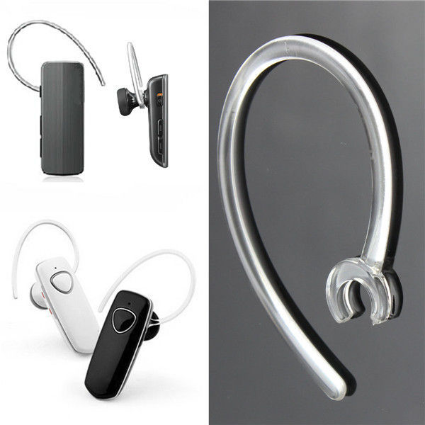 2x Bluetooth 6mm Silicone Headset Receiver Clip Clamp Holder EarHook Ear Loop Replacement