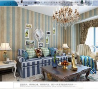 Large Stripe Vintage Damask Fashion Room Wallpaper Mural Rolls For Livingroom Wall 3 D Room Non