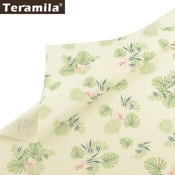 Teramila-100% de tela de algodón para mujer, tejido de animales, DIY, para...