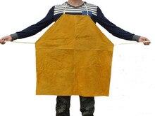 Leather Welding Apron Protective Clothing Carpenter Blacksmith Gardening Work Protective Clothing