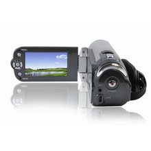 Cheaper hd 1080P 3.0inch LCD screen 270 degree Rotation Digital Vedio Camera 24x Digital Zoom  / Web Camera HD DVR Portable Camcorder