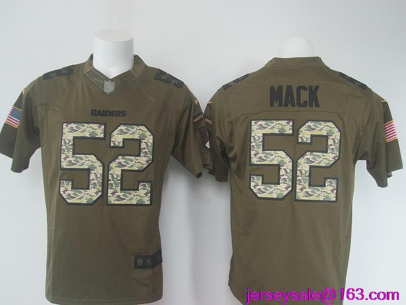 52 Khalil Mack Oakland Raiders LIMITED Jerseys