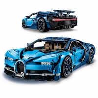 Bugatti chiron jogos de corrida do carro 4031 peças compatíveis com blocos de construção técnica série modelo brinquedos tijolo