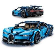 Decool Bugatti чугун гоночный автомобиль наборы 3625 шт. Совместимость с lego строительные блоки технические серии модельный кирпич игрушки