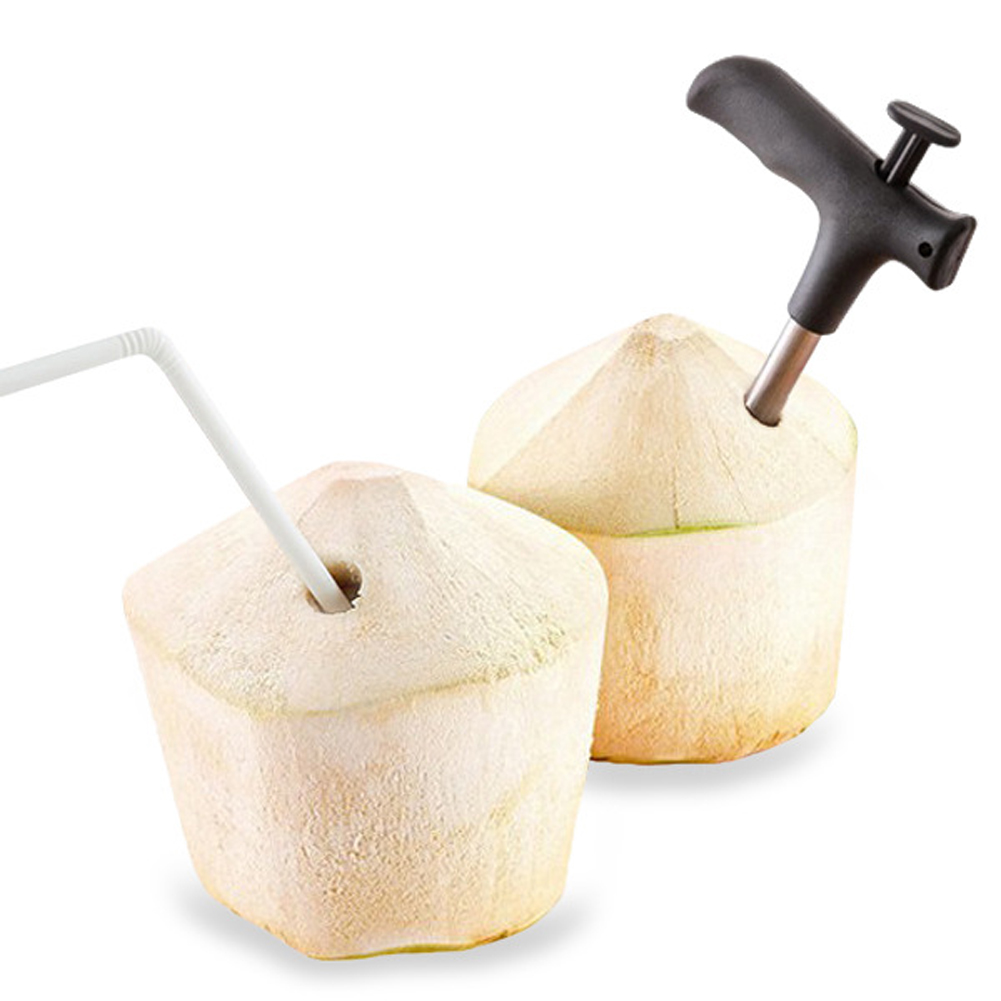 Stainless Steel Coconut Opener Opening Driller Cut Hole Tool Fruit Openers Tools Durable Knife Hole Tool Kitchen Accessaries