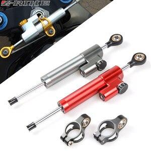 Image 1 - CNC Universal Aluminium Motorrad Dämpfer Lenkung Stabilisieren Sicherheit Control Für Suzuki GSX R GSXR 600 750 1000 K1 K2 K3 K4 k5 K6