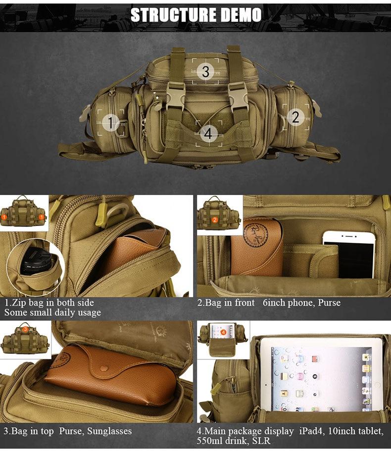 MOLLE Shoulder/Waist Bag