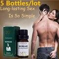 MK autêntica masculino Herbal Óleo de Massagem Do Pênis alargamento óleos permanente crescimento espessamento bombas & ampliadores medicina Aumentar pênis