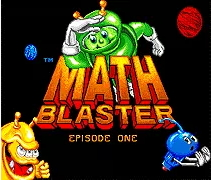 Math Blaster  - 16 bit MD Games Cartridge For MegaDrive Genesis console
