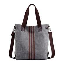 New simple big capacity design canvas  women messenger bag fashion girls handbag shoulder bag  daily shopping bag
