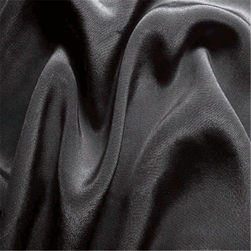 16 мм эластичный шелк крепдешин ткань шелк тутового шелкопряда 108 см ширина серебристый черный синий фиолетовый 10 метров маленькая - Цвет: 43