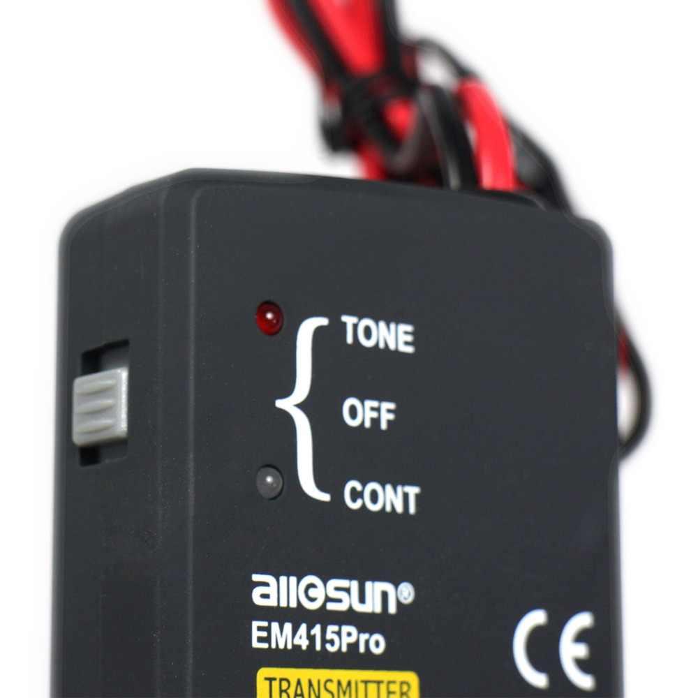 all-sun EM415pro السيارات اختبار سلك كابل قصيرة المفتوحة الباحث إصلاح أداة اختبار سيارة الراسم تشخيص لهجة خط مكتشف