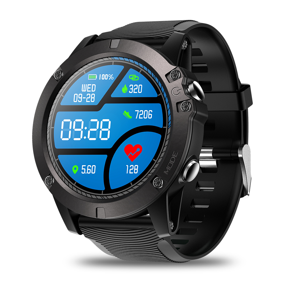 Zeblaze VIBE 3 Pro Smart Watch Men Real-time Weather Optical Heart Rate Monitor All-day Tracking Sports Smartwatch VS 4 DUAL RPO g6 tactical smartwatch