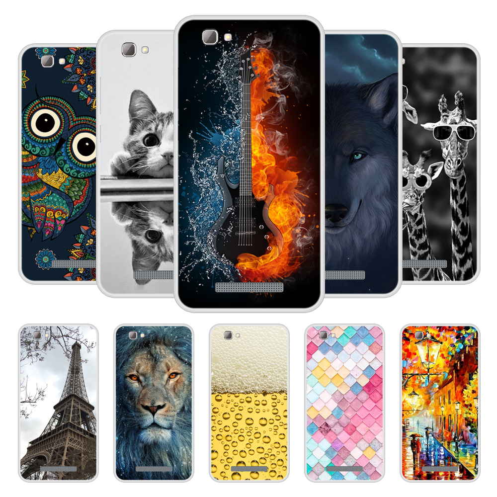 Case For ZTE Blade A610 Soft Silicone TPU Chic Pattern Painted Phone Cover For ZTE A610 Case Cover