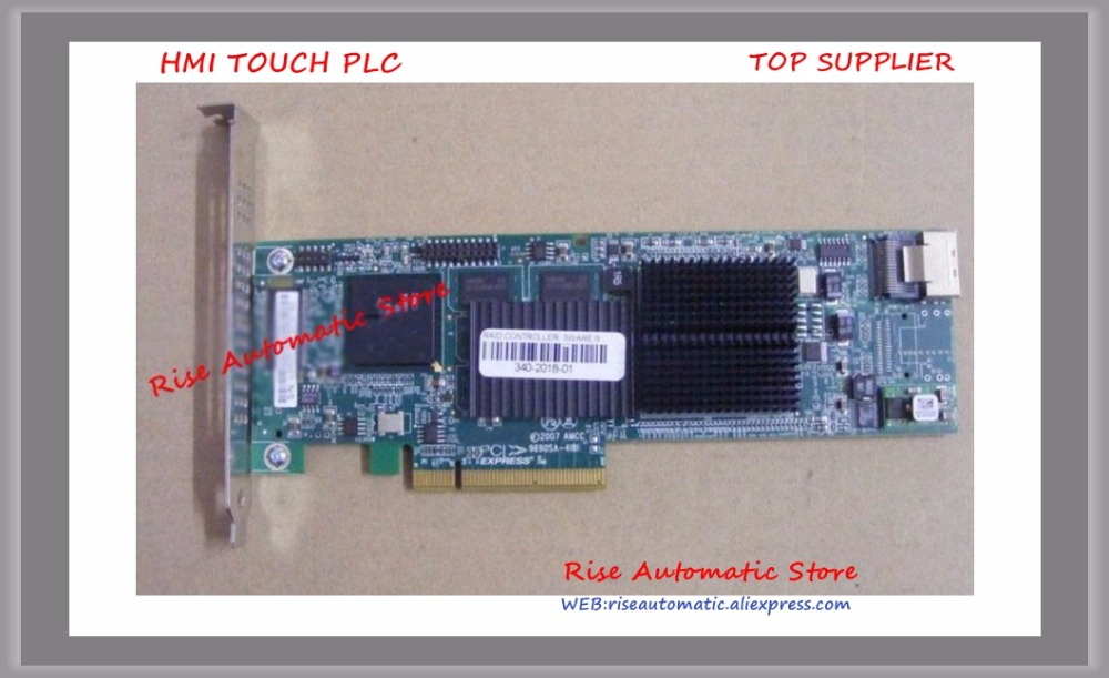 SAS Array Card  LSI 3ware 9690SA-4I8I AMCC 9690SA warranty for 3 years boxed brand new lsi 9261 8i raid5 6 sas 8 array card 9260 8i