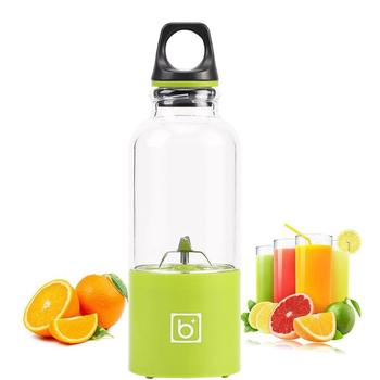 500ml Mini Electric Juicer Cup USB Rechargeable Portable Juicer Blender Maker Shaker Squeezer Lemon Fruit Orange Juice Extractor Кубок
