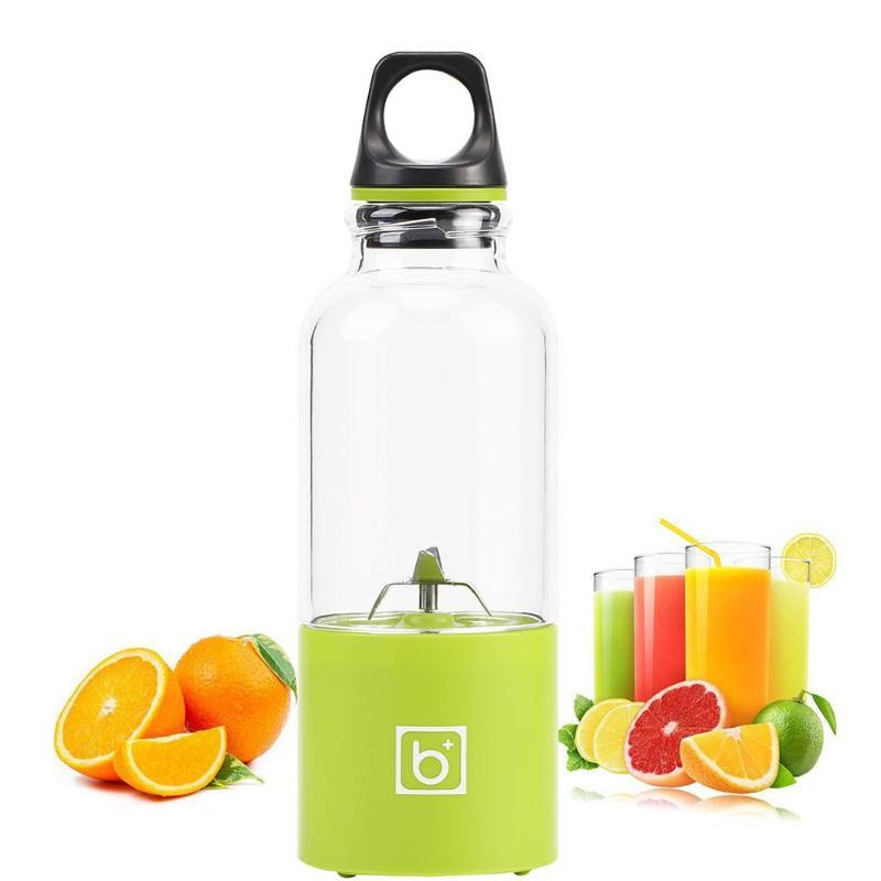 500 ml Mini botella de exprimidor eléctrico taza USB recargable portátiles exprimidor batidora de Shaker exprimidor de limón naranja Extractor de jugo