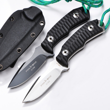 Pohl Force Hunting Fixed Knives,AUS-10 Blade G10 Handle Tactical Knife,Camping Survival Knife