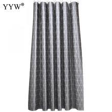 3d Waterproof Shower Curtains Nordic Style Big Curtain Peva Transparent Bathroom Gray Luxury Bath