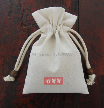 100pcs CBRL  jute bags, jute jewelry pouches,7*9cm flax drawstring pouches for accessories cereal, Various colors,