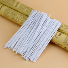 200 Pieces White Cleaners 16cm Smoking Pipe Cleaner