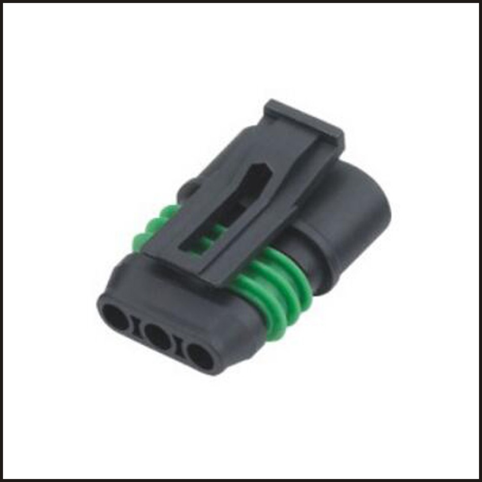 Car Wire Connector Ecu Male Female Wire Connector Fuse Plug Connector Automotive Wiring 3 Pin