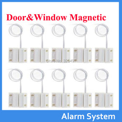 10 teile/los Tür Fenster Kontakte Sicherheit Magnetische Reed Frühling Schalter Alarm Normal geschlossen Stil Schrauben